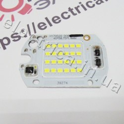 Светодиодная матрица 20W SMD с IC драйвером 220V