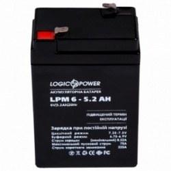 Аккумулятор AGM LPM 6-5.2 AH (LP4158)