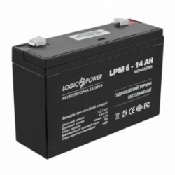 Аккумулятор AGM LPM 6-14 AH (LP4160)