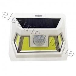 Светодиодный светильник LED COB 8W солнечная батарея