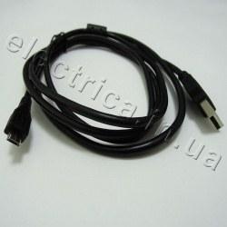 Кабель USB 2.0 штекер USB AM - штекер micro USB B 5pin, 1,8 м